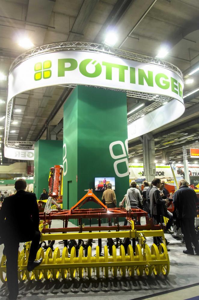 Allestimento stand Bologna Eima Pottinger