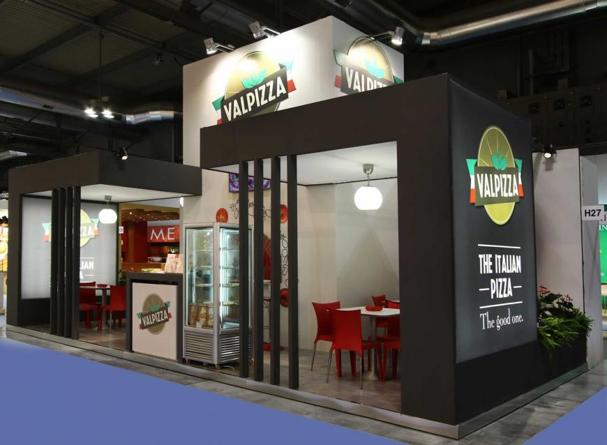 Allestimento Stand Milano Tutto Food Valpizza
