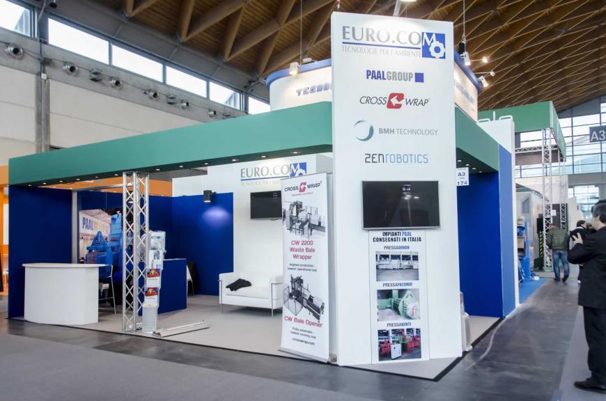 Allestimento Stand Rimini Ecomondo Eurocom