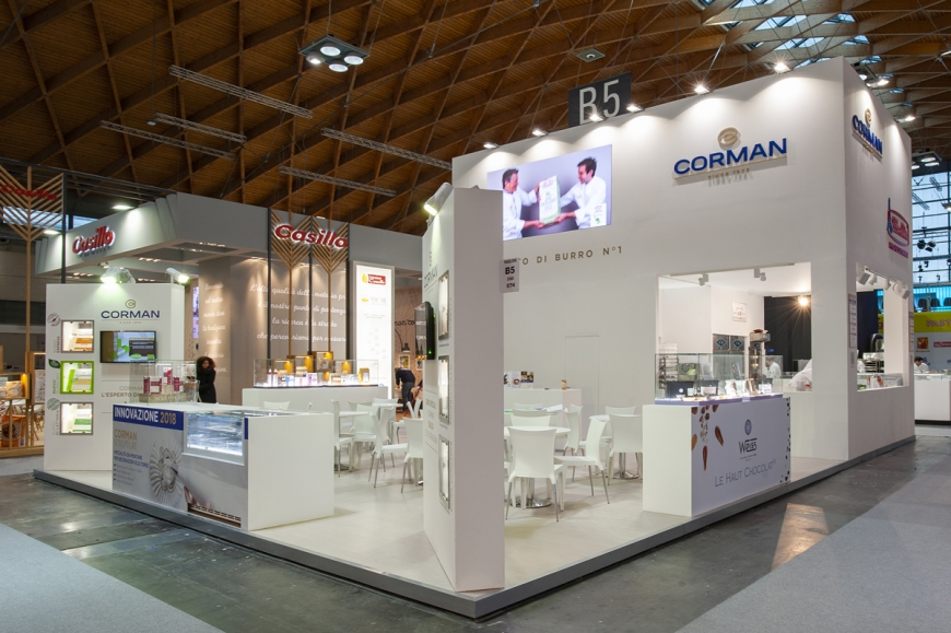 Corman Sigep allestimento stands