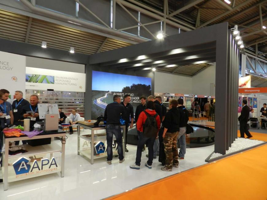 Exibition stand Amsterdam Apa