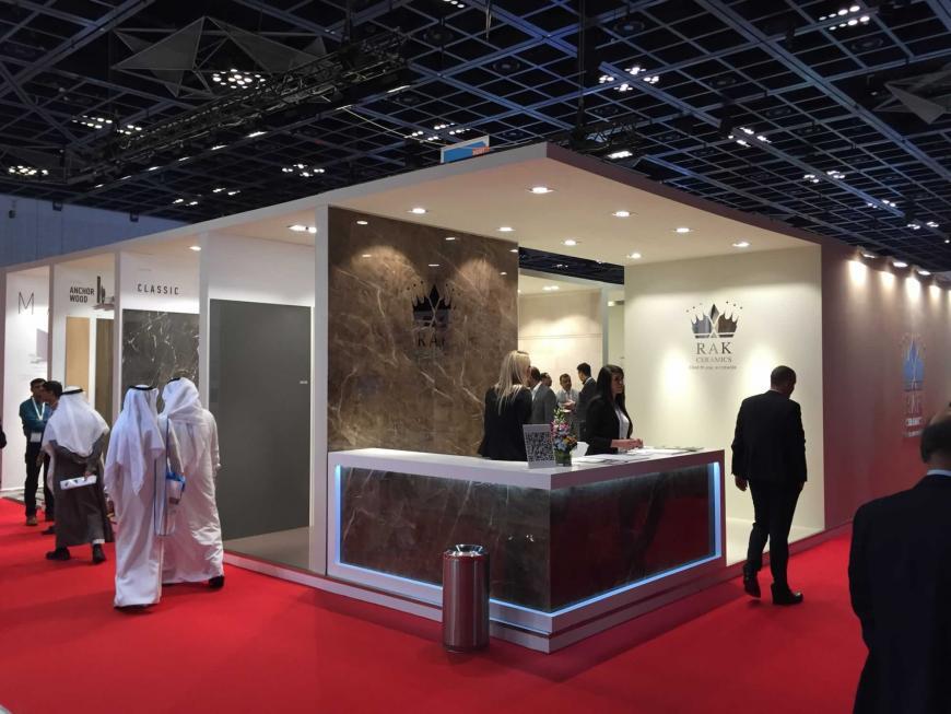 Exibition stand Dubai Saudi Ceramics