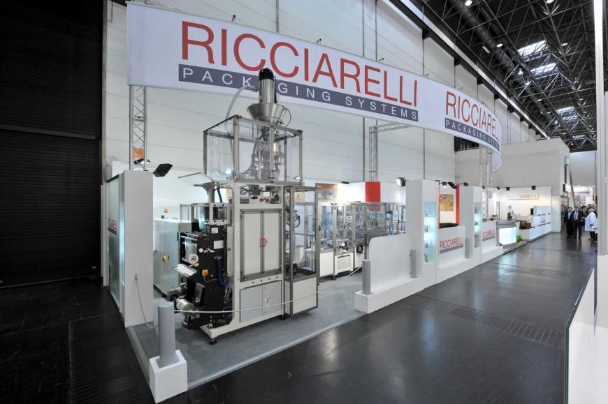 Exibition stand Dusseldorf Ricciarelli