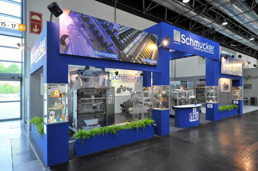 Exibition stand Dusseldorf Schumucker