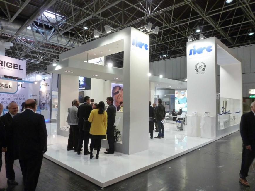 Exibition stand Dusseldorf Torninova Siare2
