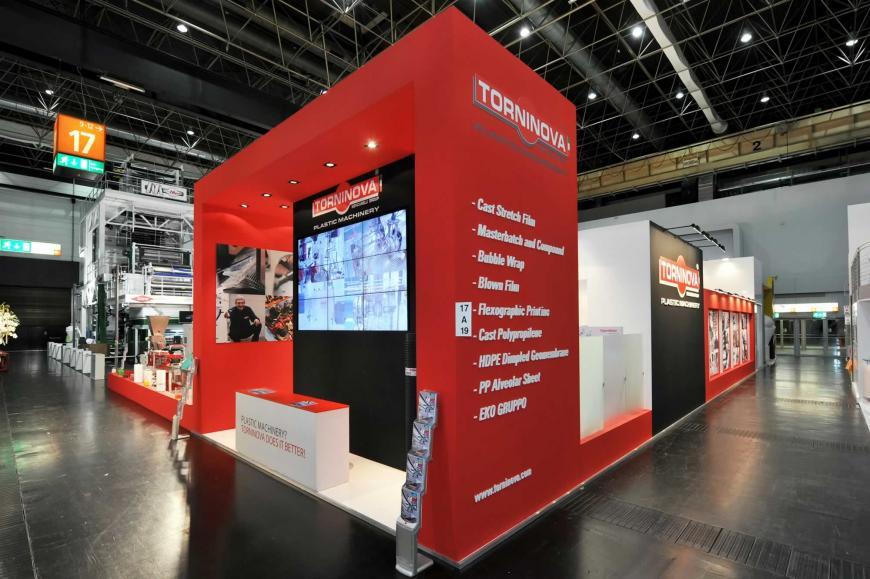 Exibition stand Dusseldorf Torninova