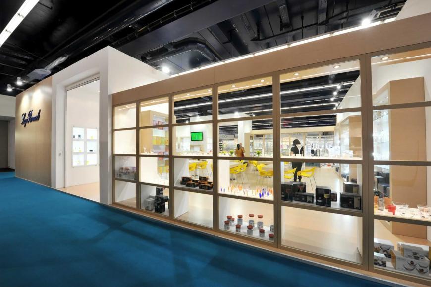 Exhibitions stand Frankfurt Luigi Bormioli