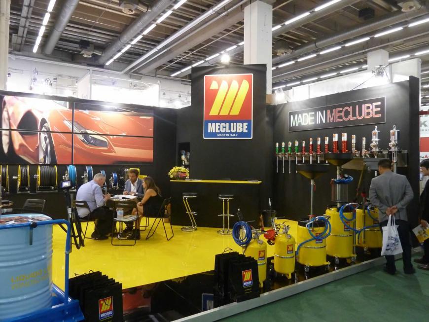 Exibition stand Frankfurt Meclube