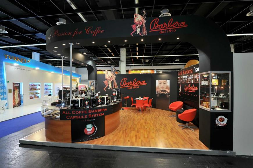 Exibition stand Koln Cafè Barbera