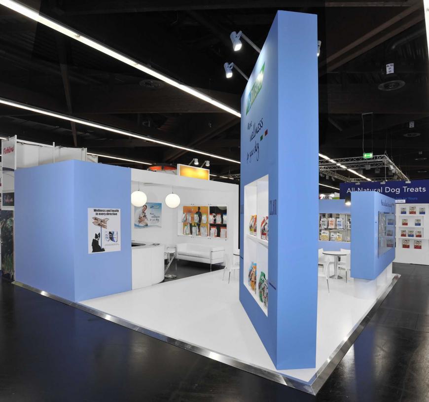 Exibition stand Nurnberg Diusapet