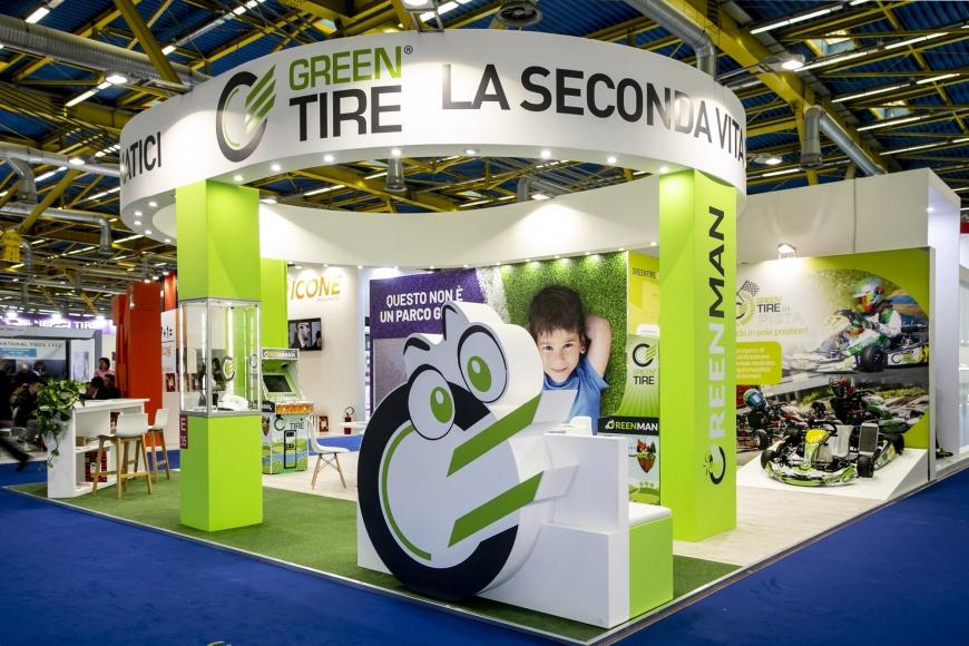 Green tire Autopromotec