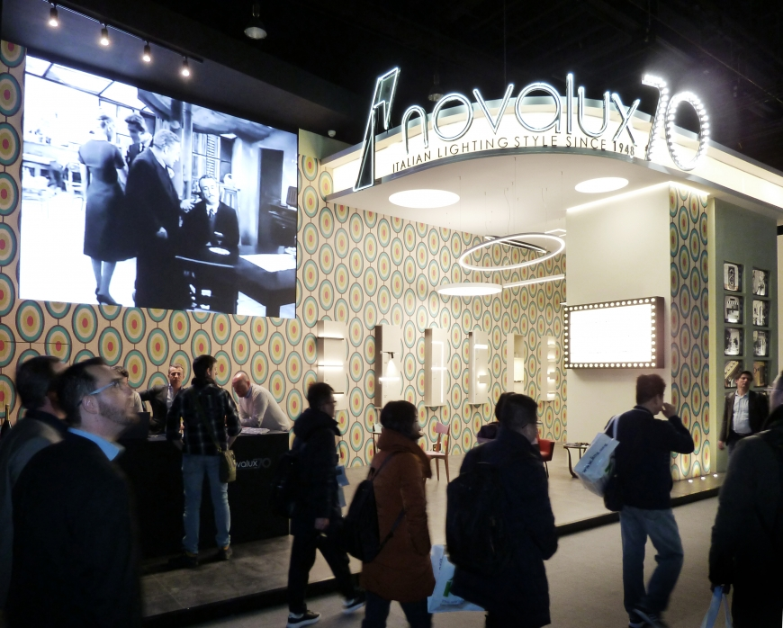 Novalux LIGHT & BUILDING Allestitori in fiera